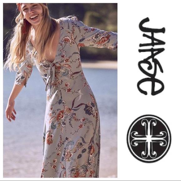 538a431c89b NEW LF Jaase Australian Boho Paisley maxi Dress